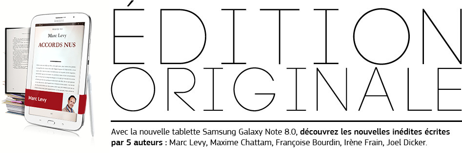 Galaxy Note 8.0 Edition Originale