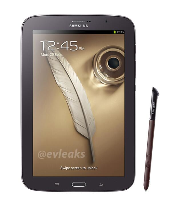 Galaxy Note 8.0 Brown Black