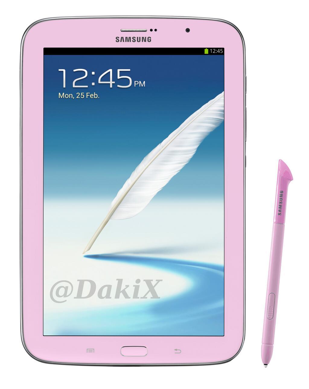 Galaxy Note 8.0 Pink