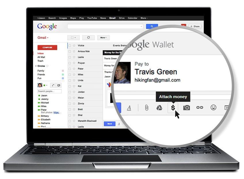 Gmail Wallet