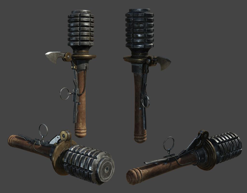 frag grenade The Order 1886