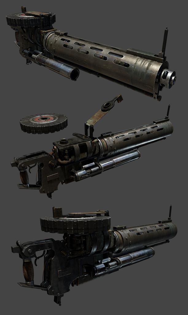 Thermite gun The Order 1886