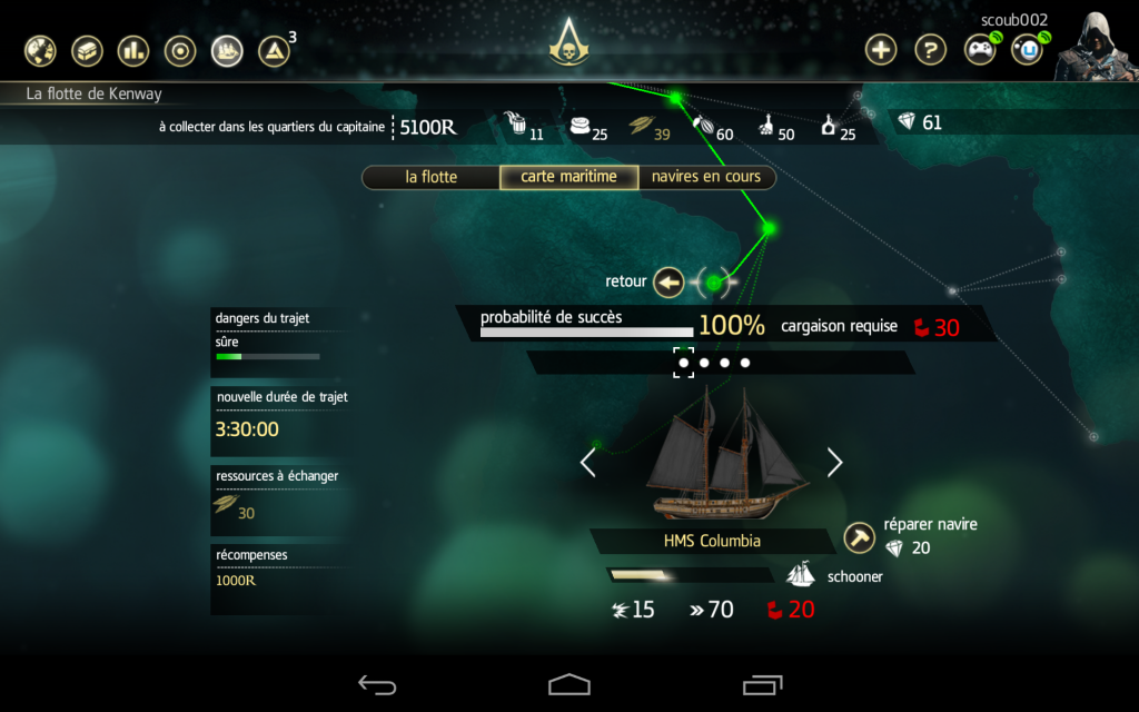 assassin's creed 4 compagnon