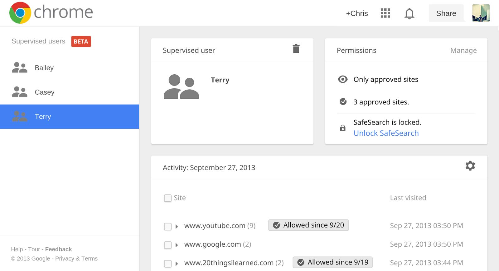 Les nouveaut s de google chrome 32 geektest for Bloquer les fenetre publicitaire google chrome