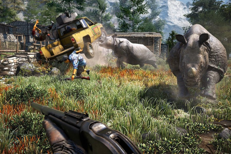 chasse far cry 4