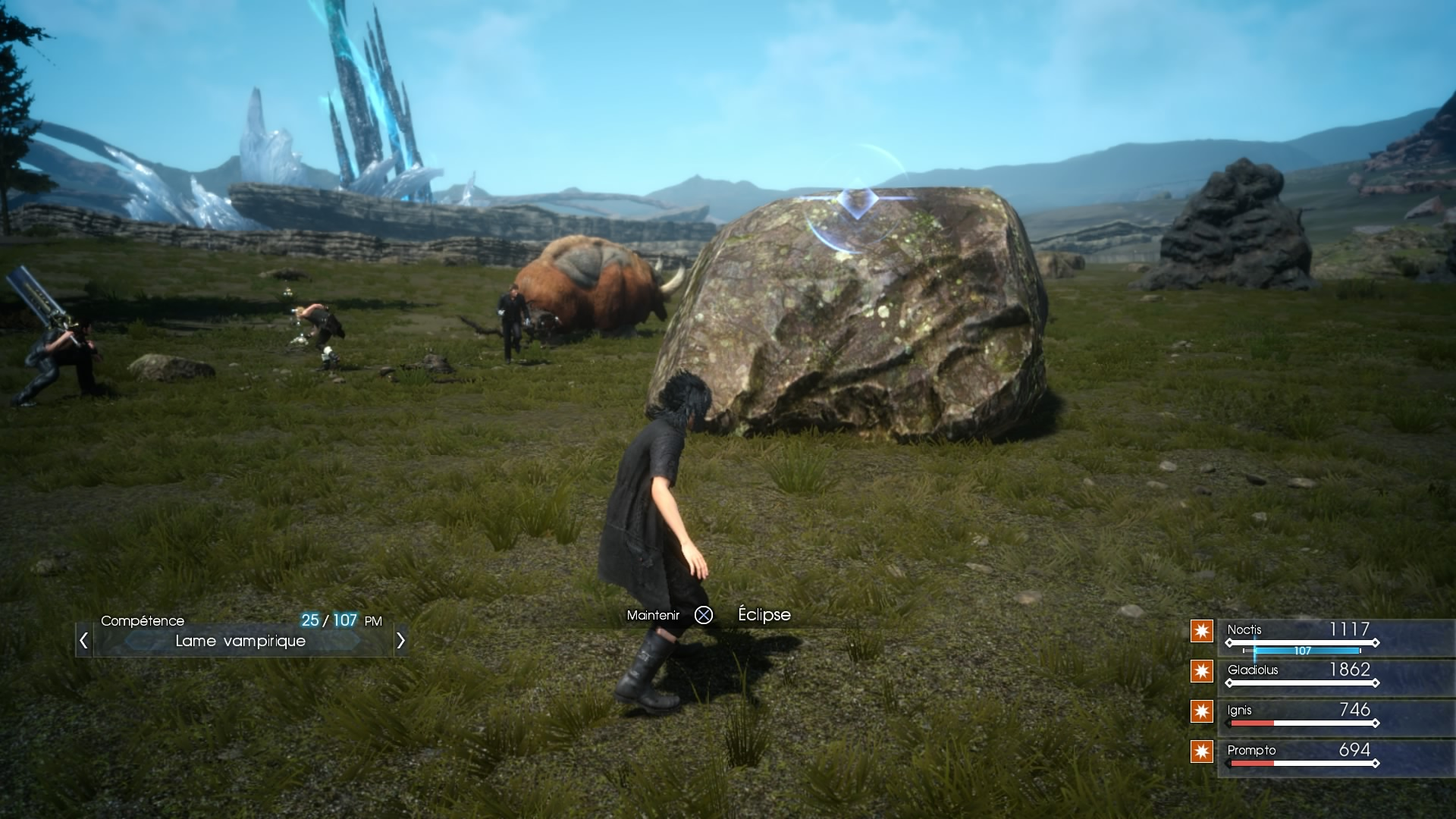 MAJ de Final Fantasy XV Episode Duscae et Type-0