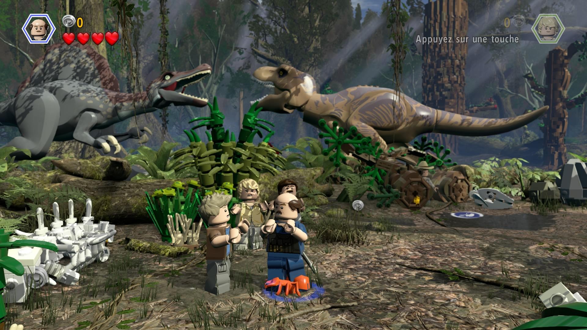 Test de lego jurassic world ps4 geektest - Jeux de jurassic park 3 ...