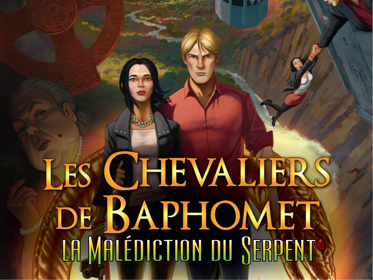 Chevaliers de Baphomet 5 la malédiction du serpent