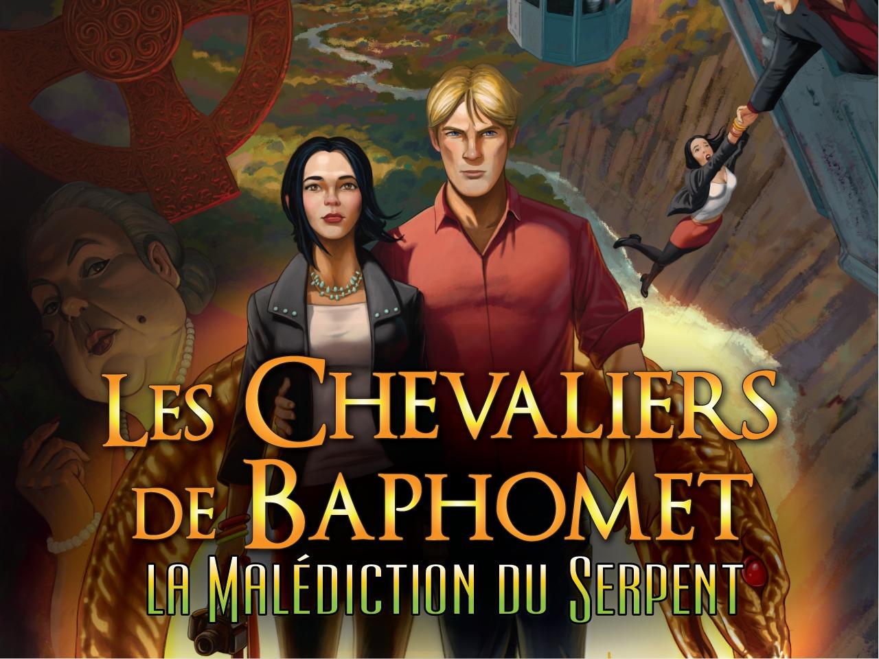 Chevaliers de Baphomet 5 la malédiction du serpent