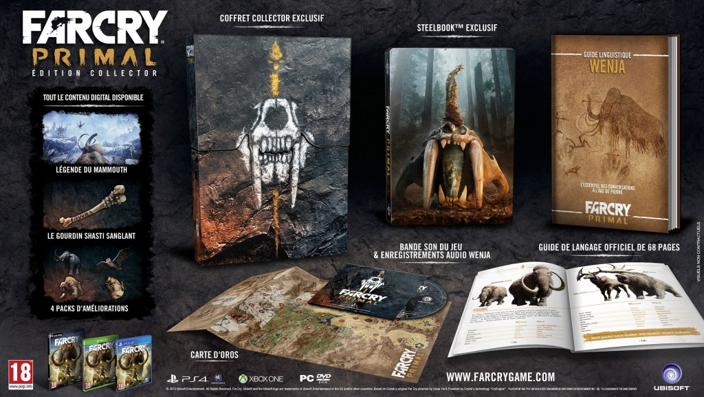 Far Cry Primal Collector