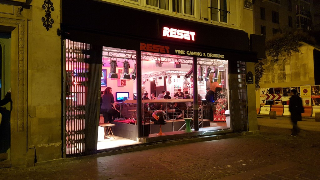 RESET bar