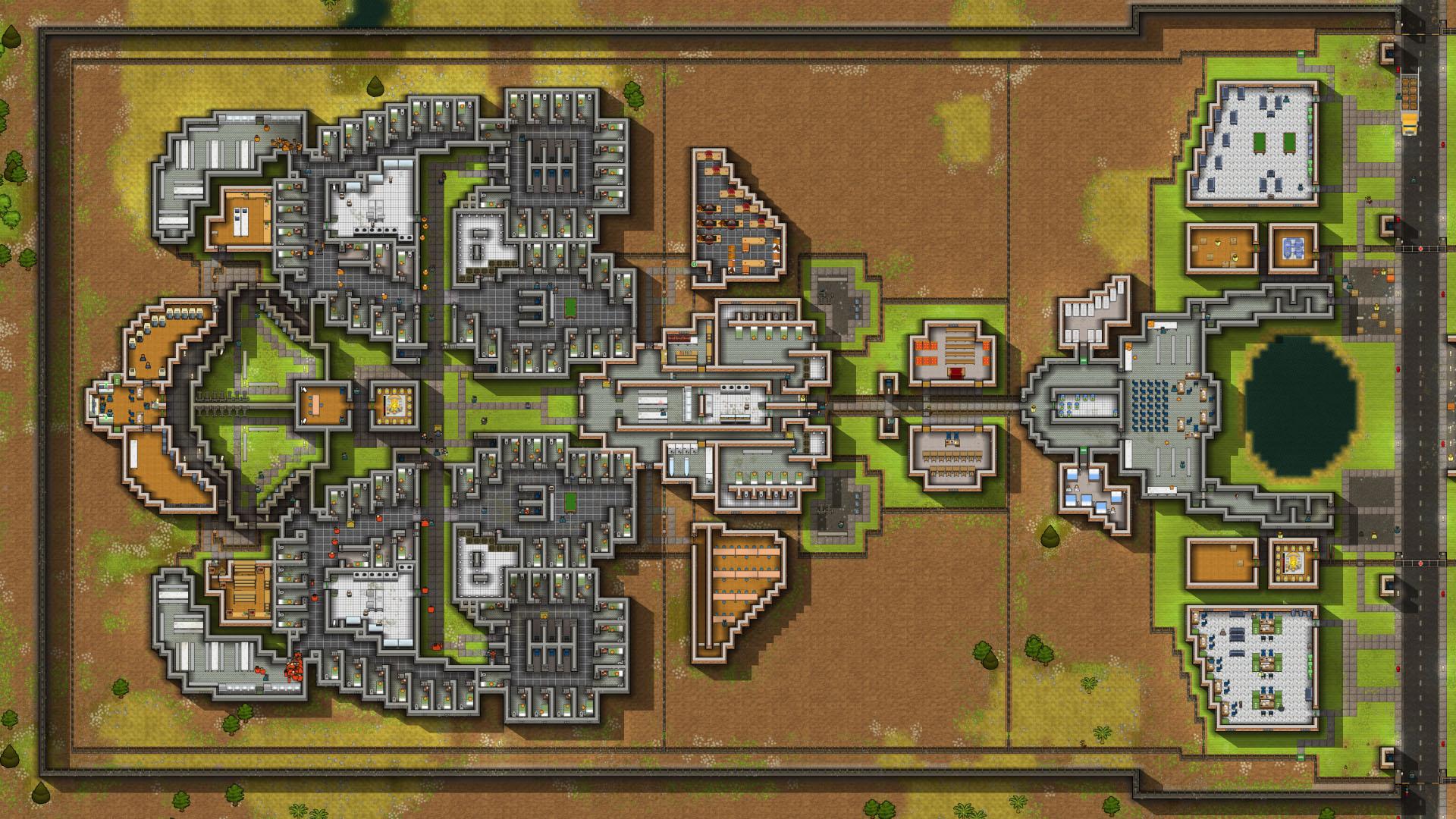 Prison architect date de sortie consoles et bonus de for Jail architect
