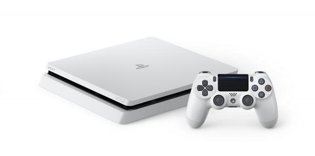 PS4 DualShock 4 Glacier White