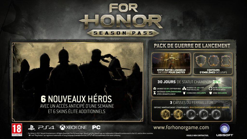 For Honor Season Pass