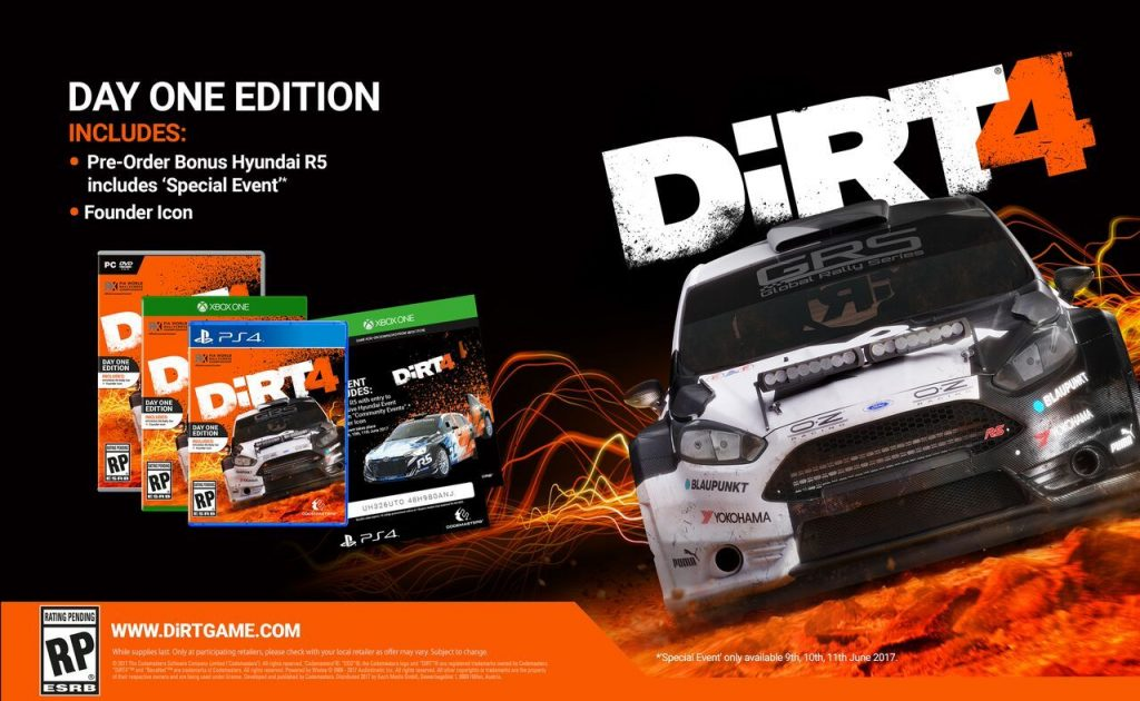 Dirt 4 Special Edition