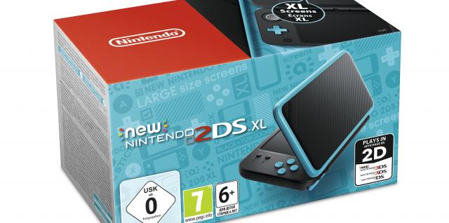 Annonce de la New Nintendo 2DS XL
