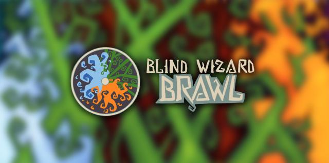 Blind Wizard Brawl