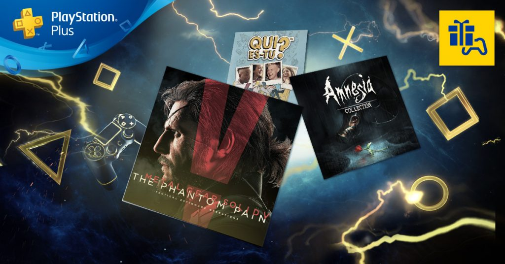 PlayStation Plus octobre 2017