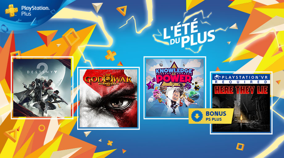 PlayStation Plus septembre 2018
