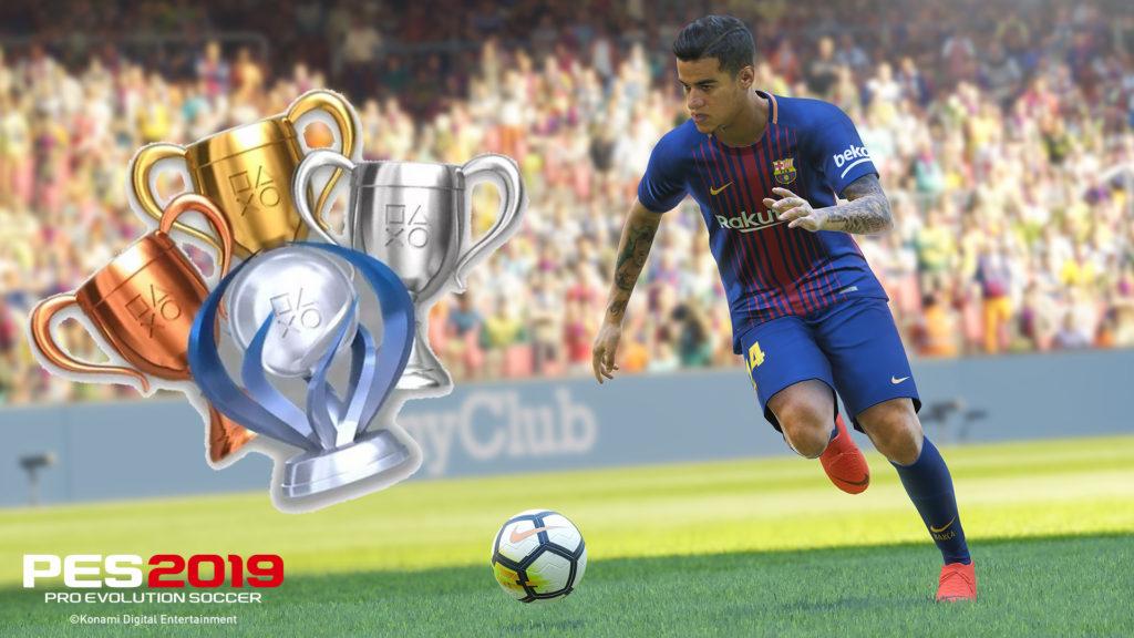 PES 2019 Guide des trophées