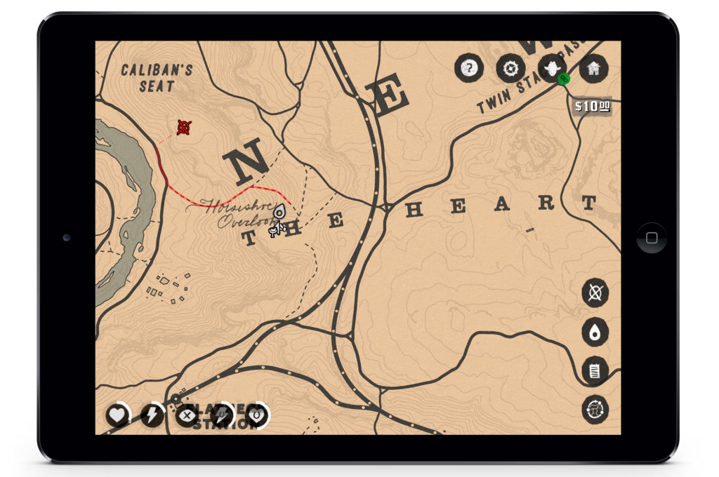 Red Dead Redemption 2 compagnon app