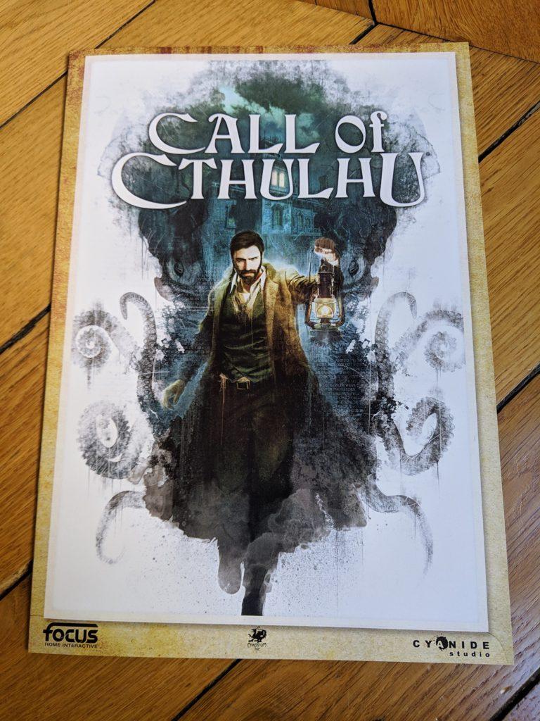 Press kit Call of Cthulhu