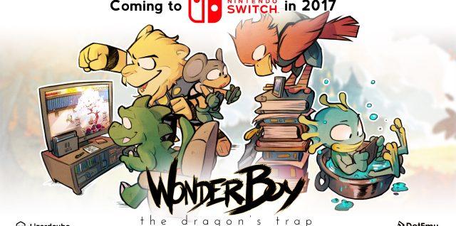 Wonder Boy: The Dragon's Trap Switch
