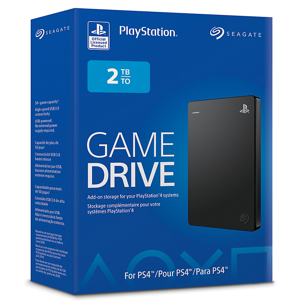 Seagate Game Drive 2 To