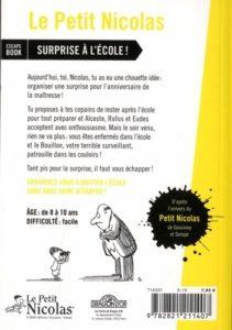 Le Petit Nicolas - Surprise à l'école ! - Escape Book