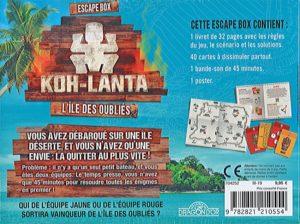 l'Escape Box - Koh-Lanta - L'île des oubliés