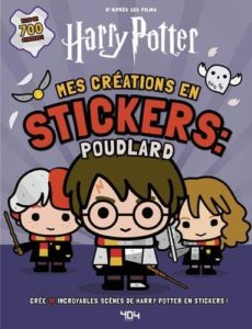 Harry Potter - Mes créations en stickers Poudlard