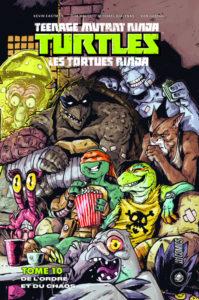 Les Tortues Ninja - TMNT - T10 De l'ordre et du chaos