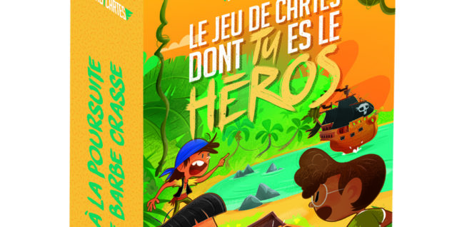 Le jeu de cartes dont tu es le héros - À la poursuite de Barbe Crasse