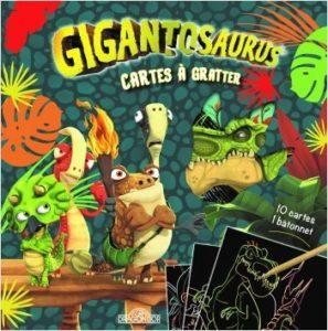 Gigantausaurus - Cartes à gratter