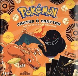 Pokémon - Cartes à gratter Dracaufeu + des infos sur les Pokémon