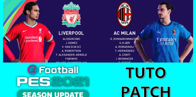 Tuto patch PES 2021