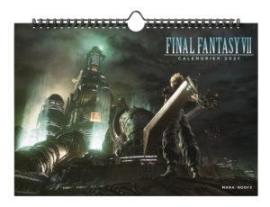 Calendrier 2021 Final Fantasy VII