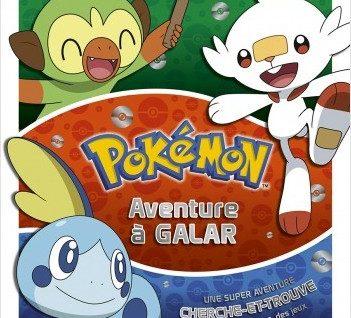 livre collector Pokémon - Aventure à Galar