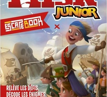 Escape book Risk Junior