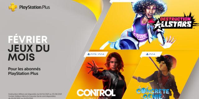 PlayStation Plus février 2021