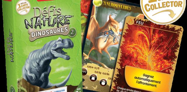 Défis Nature Dinosaures 1/2/3