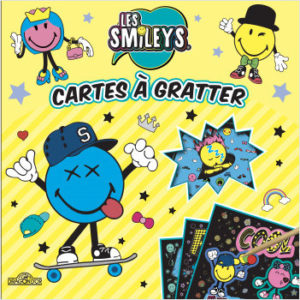 Les Smileys - Cartes à gratter
