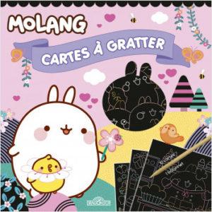 Molang - Cartes à gratter cupcakes