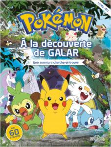 Pokémon - À la découverte de Galar - Une aventure cherche et trouve