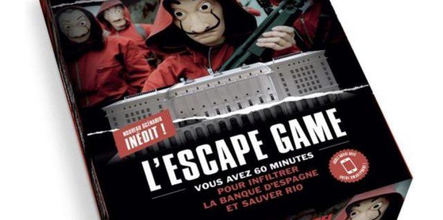 L'Escape Game La Casa de Papel - Parties 3-4