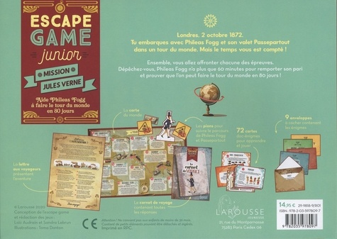 Escape Game Junior - Mission Jules Verne