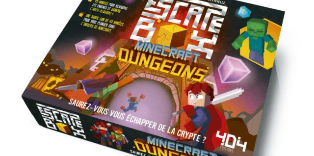 Escape box Minecraft Dungeons