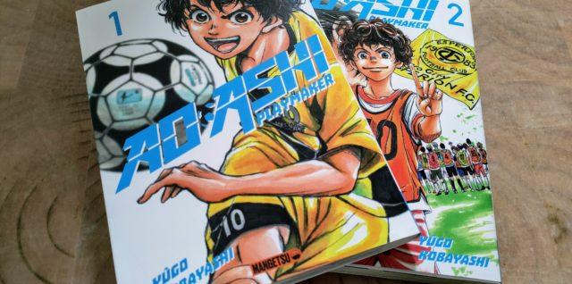 Découverte manga : AO ASHI file droit au but !