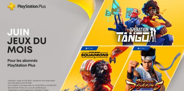 PlayStation Plus juin 2021