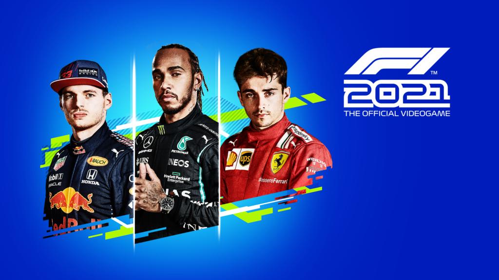 F1 2021 box art